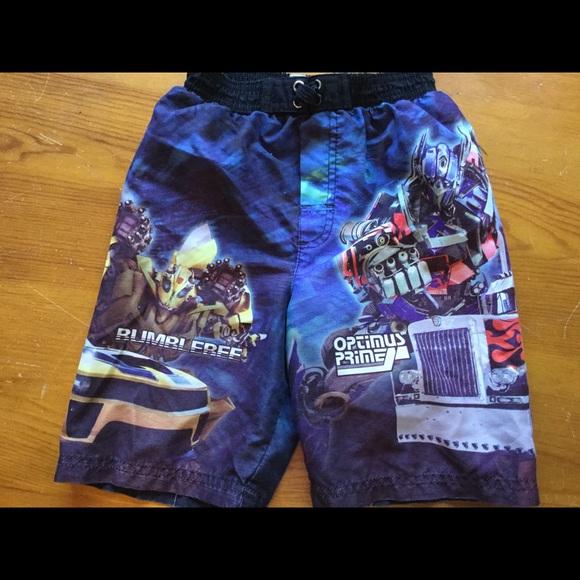 8b83bf5d89 Transformers Swim | Sale Brand Trunks Boys Size 5 | Poshmark